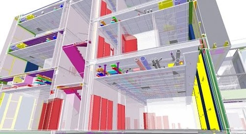 Tekla France BIM Awards 2016 - GA : THALES Campus Bordeaux