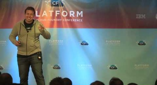 Welcome from James Watters (Platform: The Cloud Foundry Conference 2013)