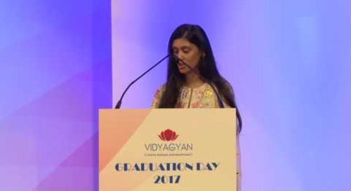 VidyaGyan Graduation Day 2017 | Roshni Nadar Malhotra