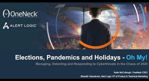 Elections, Pandemics, and Holidays - Oh My!
