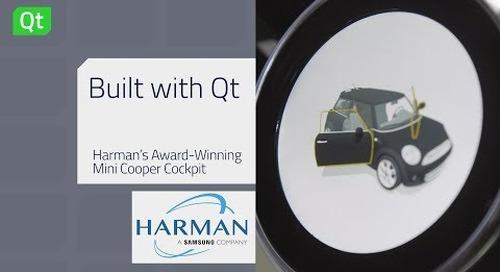 Built with Qt | 哈曼为Mini打造数字座舱
