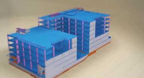 Информационное моделирование (BIM)  конструкций зданий из железобетона