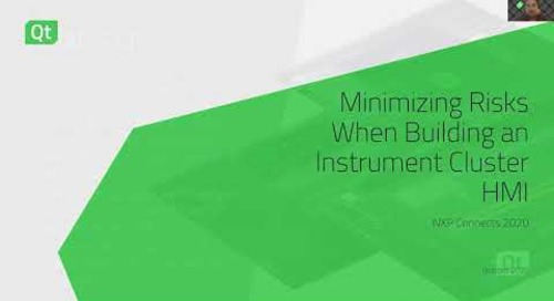 Minimizing Risks When Building an Instrument Cluster HMI {On-demand webinar}