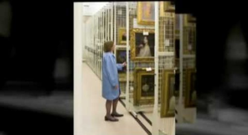 Museum Cabinet Collection Storage Systems Shelving Racks Toll Free 1-800-803-1083