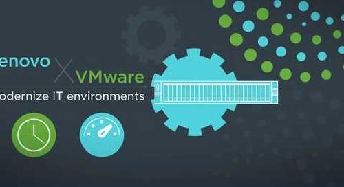 Lenovo ThinkAgile VX Series and ReadyNodes for VMware