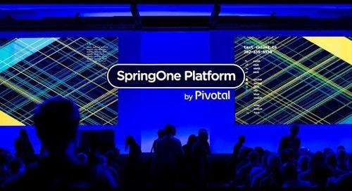 SpringOne Platform 2018, Thursday Sept. 27th