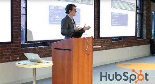 Look & Tell Boston - HubSpot Data Driven Performance: Exposing Data to Change Behavior