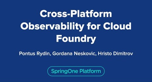 Cross-Platform Observability for Cloud Foundry