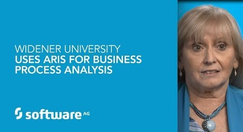Widener University uses ARIS for business process analysis