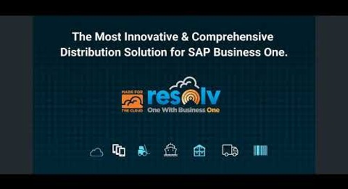 Resolv for SAP Business One