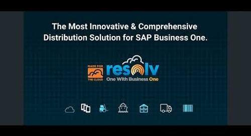 Video Demo | Resolv for SAP Business One
