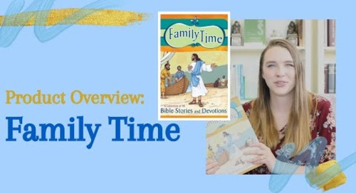 Product Overview of Family Time | Devotions for Families