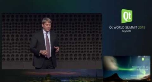 QtWS15- Keynote Welcome, Possibilities for an Innovative Tomorrow, Juha Varelius, Petteri Höllander