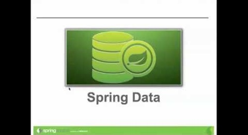 Webinar: Introduction to using MongoDB and Spring Data on Cloud Foundry