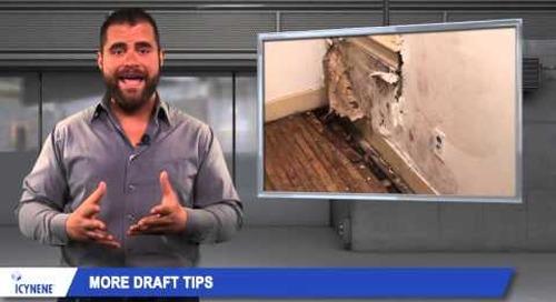 Spray Foam Insulation | Drafty Houses | Energy Efficient Homes