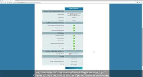 Tutoriel vidéo du Portail Genetec - Comment créer un devis et commander