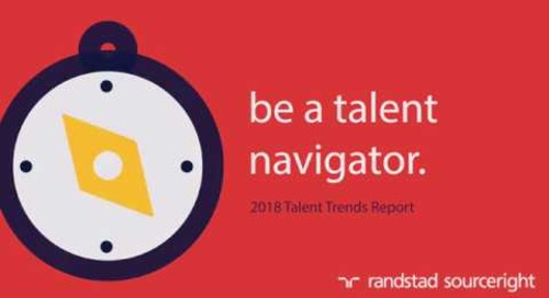 Randstad Sourceright 2018 Talent Trends