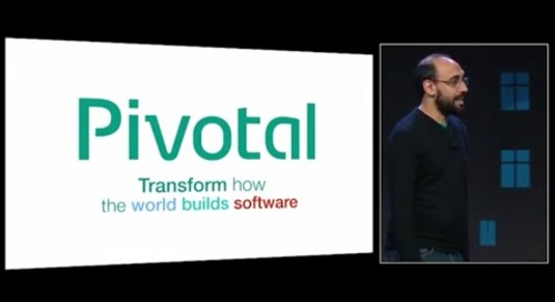 Pivotal Cloud Foundry Overview — Onsi Fakhouri ?