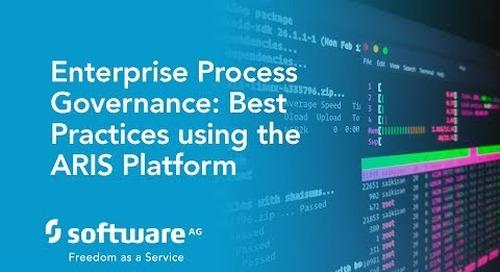 Enterprise Process Governance: Best Practices using the ARIS Platform