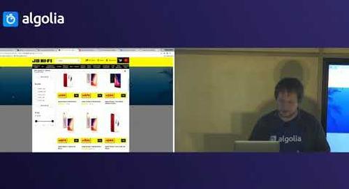Building a successful e-commerce search UX - Olivier Lance, Algolia