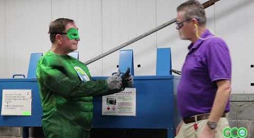 ECC Video Desecho de materiales inflambales y combustibles