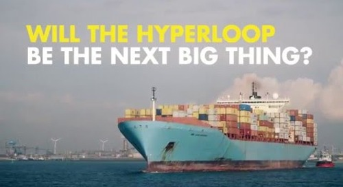 From Amsterdam to Paris in 30 minutes with the Hyperloop