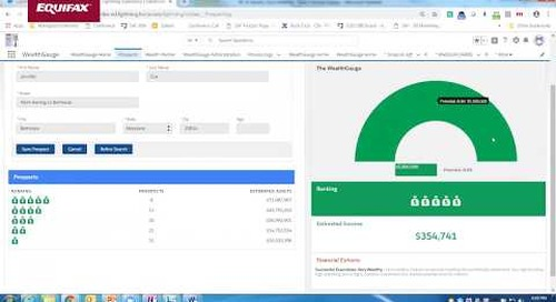 WealthGauge demo – prioritize high value clients
