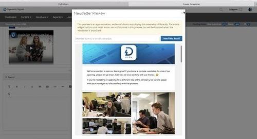 Product Spotlight: Newsletters
