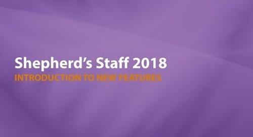 Shepherd's Staff:  Introducing 2018