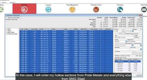 Material Management in Tekla PowerFab