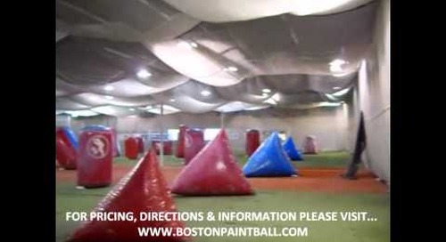 Boston Paintball Everett Indoor Playing Field - Virtual Tour