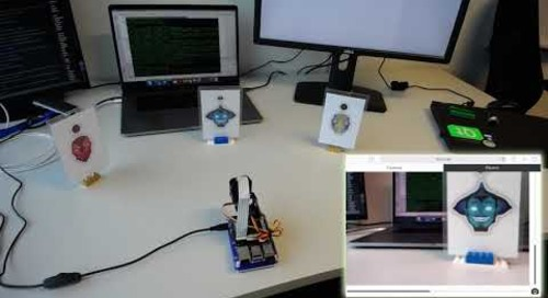 Qt Quick WebGL demo: camera remote control