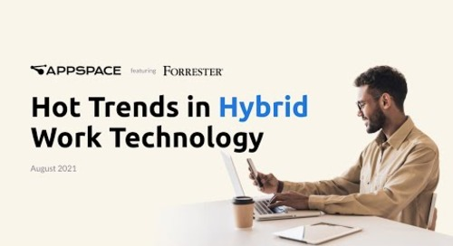 Hot Trends in Hybrid Workplace Technology   Webinar Featuring Forrester