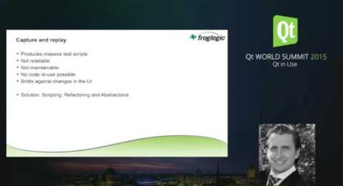 QtWS15- Behavior Driven GUI Testing of Embedded, Mobile and Desktop Qt HMIs, Reginald Stadlbauer, fr