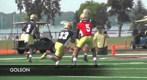 Notre Dame Fall Practice Highlights - Aug. 4, 2014