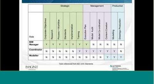 Strategies for Success: BIM Management