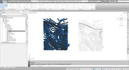 Civil 3D Surface from GIS Contours
