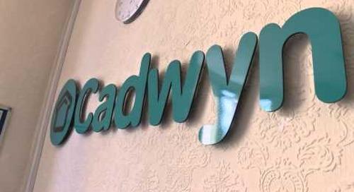 Work Inclusion Award   Cadwyn Housing Association, Big Tick