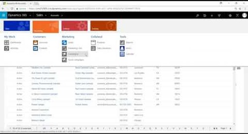 How Do I Use the Associated View for Searching in D365 for Sales