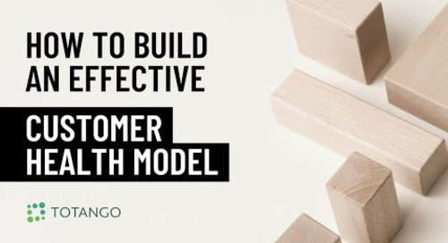 How to Build an Effective Customer Health Model