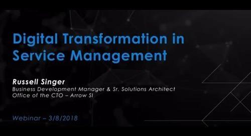 Digital Transformation in Service Management