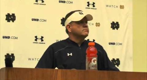 Brian Kelly Press Conference (11-6-14)