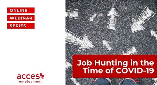 Job Hunting in the Time of COVID-19
