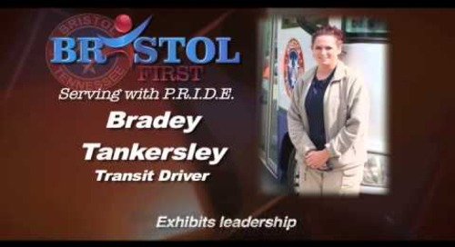 Bristol P.R.I.D.E Winner - October 2014 - Bradey Tankersley