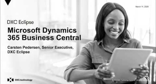 Deep Dive into Dynamics 365 Business Central