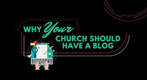 Why Your Church Should Have a Blog