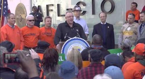AFL-CIO Keystone Rally