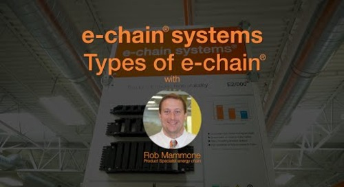 Choosing your chain - Types of e-chains