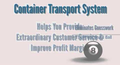 Container Transport System Improves Distribution Margins