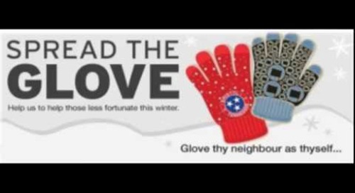 Spread the Glove St Anne